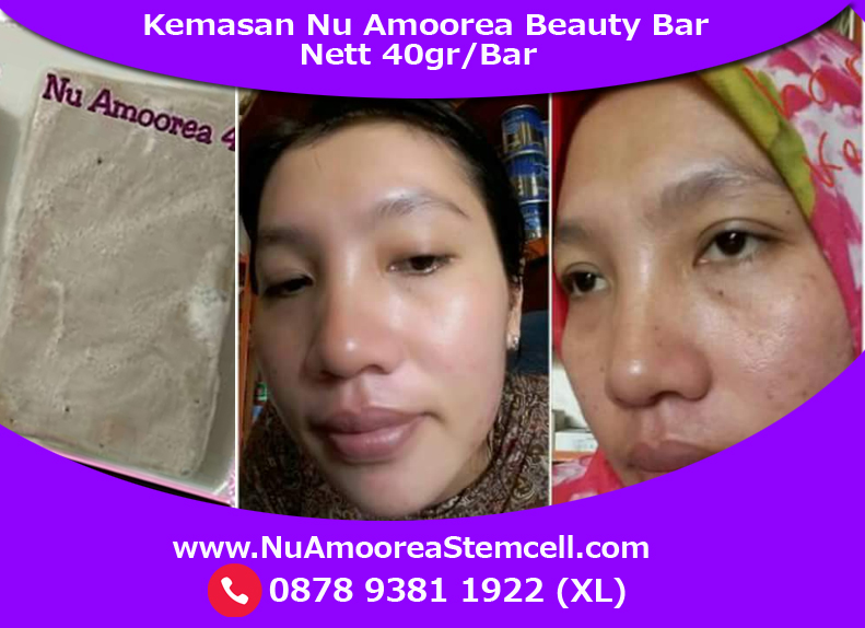 testimoni nu amoorea beauty plus bar 40gr