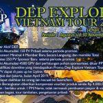 Promo DEP Explore Vietnam Tour 2018/2019